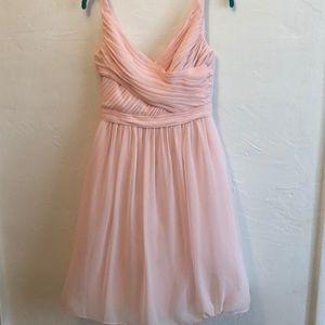 Beautiful blush midi dress!